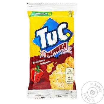 Печенье Tuc Крекер соленый с паприкой 21г