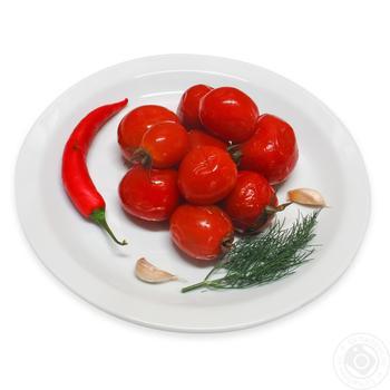 Помидоры соленые По-домашнему - купить, цены на Фуршет - фото 1