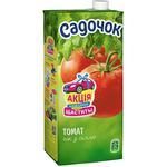 Сік Садочок томатний з сіллю 0,95л