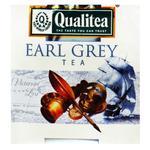 Чай чорний Qualitea Earl Grey з бергамотом 2г - купити, ціни на Ашан - фото 1