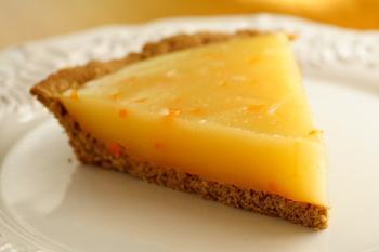 Лимонний пиріг з вершками