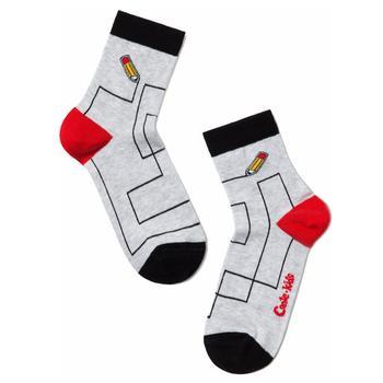 Носки детские Conte-Kids Tip-Top светло-серый размер 20