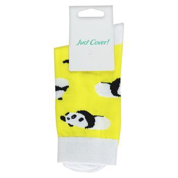 Носки унисекс Just Cover! Солнечные панды размер 36-39