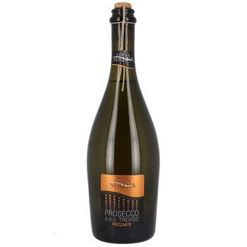 Вино игристое Terra Serena Prosecco Frizante белое сухое 10.5% 0,75л - купить, цены на ЕКО Маркет - фото 1