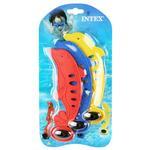 Фігурка Intex підводна Дельфін 3 кольори 55502x - купити, ціни на Фуршет - фото 1