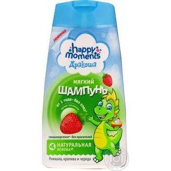 Happy Moments Drakosha Shampoo With Strawberries For Children 240ml - buy, prices for Auchan - photo 1