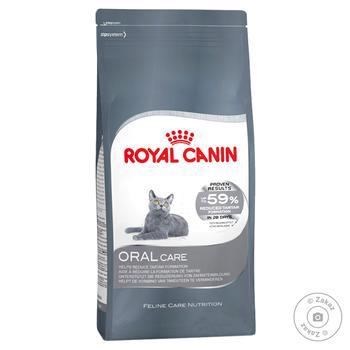 Корм сухий Royal Canin Oral Care для зменшення утворення зубного каменю у котів 1-7років 400г