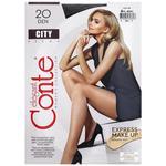 Колготки женские Conte City 20ден р.4 Nero