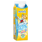 Молоко Молокия пастеризованное 2.7% 930г Украина