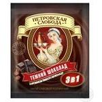 Напиток кофейный Петровская Слобода 3в1 Темный шоколад в стиках 18г
