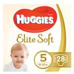 Huggies Elite Soft Diapers 5 12-22kg 28pcs