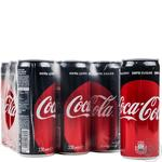 Beverage Coca-cola Zero strongly carbonated 330ml can