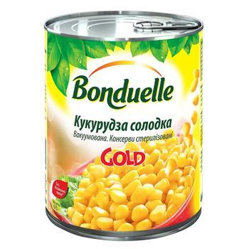 Кукуруза Бондюэль нежная вакуумированная 850мл - купить, цены на Novus - фото 1
