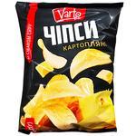 Чіпси Varto зі смаком сиру 110г