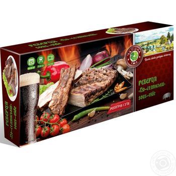 Ребрышки свинные Magic Food «По-деревенски» sous-vide - купить, цены на Novus - фото 1