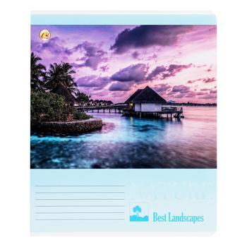 Тетрадь Тетрада Люкс в линию 18 листов - купить, цены на МегаМаркет - фото 1