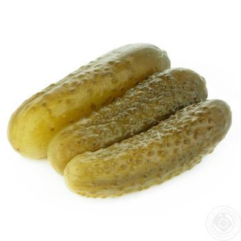 Огірки солені 9-15 (Виробництво) ваг - купить, цены на Novus - фото 1