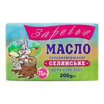 Zarechye Selyanske Sweet Cream Butter 73% 200g