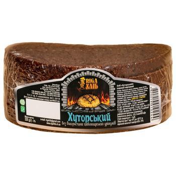 Хліб Riga Хуторський 220г - купити, ціни на CітіМаркет - фото 1