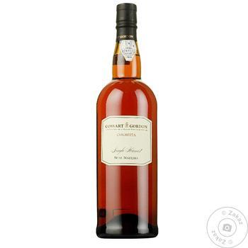 Вино Cossart Gordon Madeira Colheita Bual 2008 белое полусладкое 19% 0,5л