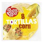 Poco Loco Wheat-corn Tortilla 320g