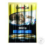 Палочки мясные для котов Gimborn GimCat лосось и форель 1шт