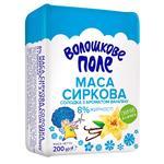 Творожок Волошкове поле сладкий с ароматом ванилина нетермизированный 8% 100г Украина