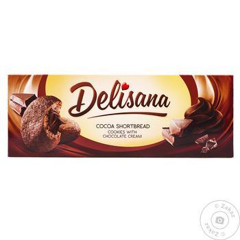 Печ DELISANA 150 г Шоколадний крем (Польща)
