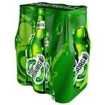Beer Tuborg light 4.6% 6pcs 500ml glass bottle Ukraine