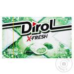 Жевательная резинка Dirol X-Fresh Мятная свежесть 18г