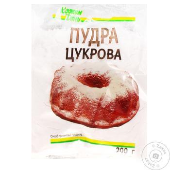 Сахарная пудра Каждый день 200г - купить, цены на Ашан - фото 1
