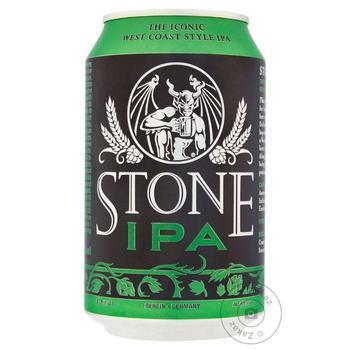 Пиво Stone IPA ж/б 330мл