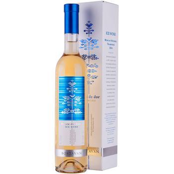 Вино Bostavan Ice Wine Floare de flor белое сухое 10.5% 0,5л