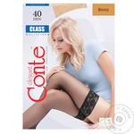 Conte Elegant Class Bronz Women's Stockings 40den 1-2s
