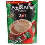 Instant coffee drink Nescafe turbo 3in1 52х17.2g stick Ukraine