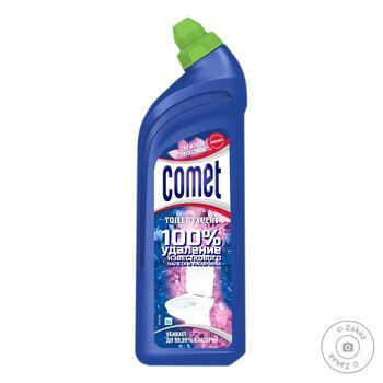 Гель Comet Сосна и цитрусы 7 дней чистоты для чистки туалета 750мл