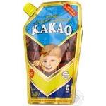 Condensed milk Pervomaisk with sugar 7.5% 310g doypack Ukraine