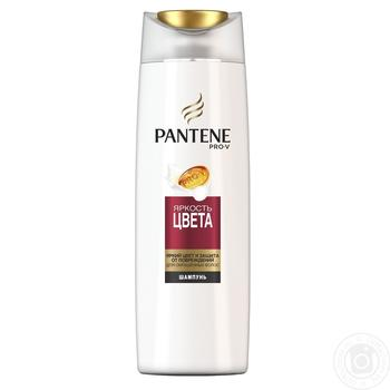 Pantene Pro-V Shampoo Color brightness for dyed hair 400ml - buy, prices for Metro - image 1