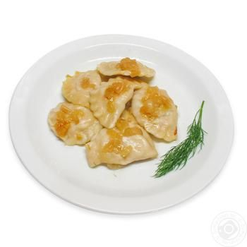 Вареники с картошкой и жареным луком - купить, цены на Фуршет - фото 1