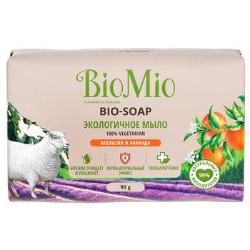 BioMio Orange, Lavender and Mint Toilet Soap 90g - buy, prices for CityMarket - photo 1