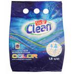 Порошок стиральный Varto Clean Color бесфосфатный автомат 1,5кг
