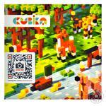 Дерев'яний конструктор-сюрприз Cubika World Тварини