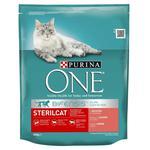 Корм сухий Purina ONE Sterilcat з лососем та пшеницею для стерилізованих котів 800г