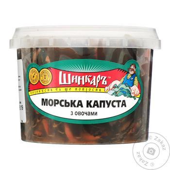 Морская капуста Шинкарь с овощами 300г