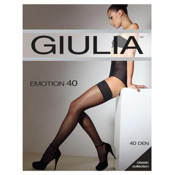Панчохи Giulia Emotion daino жіночі 40ден 1/2р - купити, ціни на МегаМаркет - фото 1