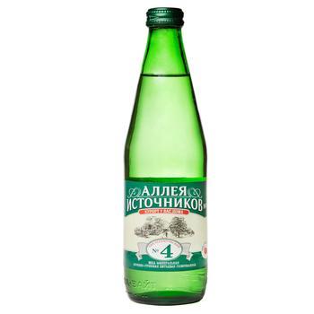 Вода Єсентукі №4 лікувально-столова скляна пляшка 500мл Росія - купити, ціни на Ашан - фото 1