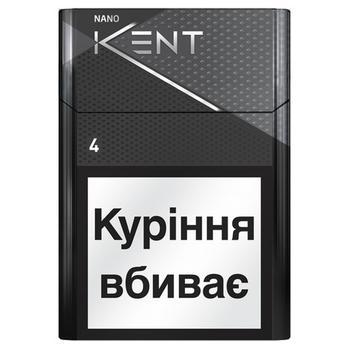 Сигарети Kent Nano Silver - купить, цены на ЕКО Маркет - фото 1
