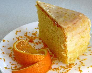 Апельсиново-ванильный кекс