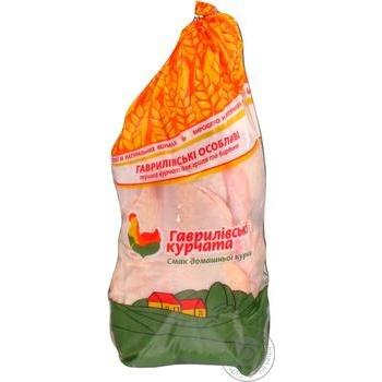 Тушка цыплят-бройлеров Гавриловские цыплята для гриля и барбекю 1 категория