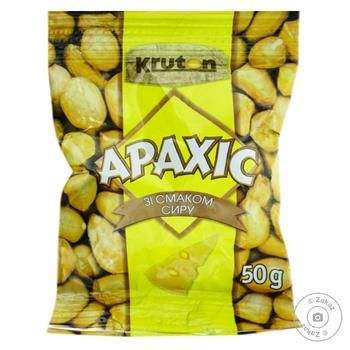 Kruton Roasted Peanuts Flavored Cheese 50g